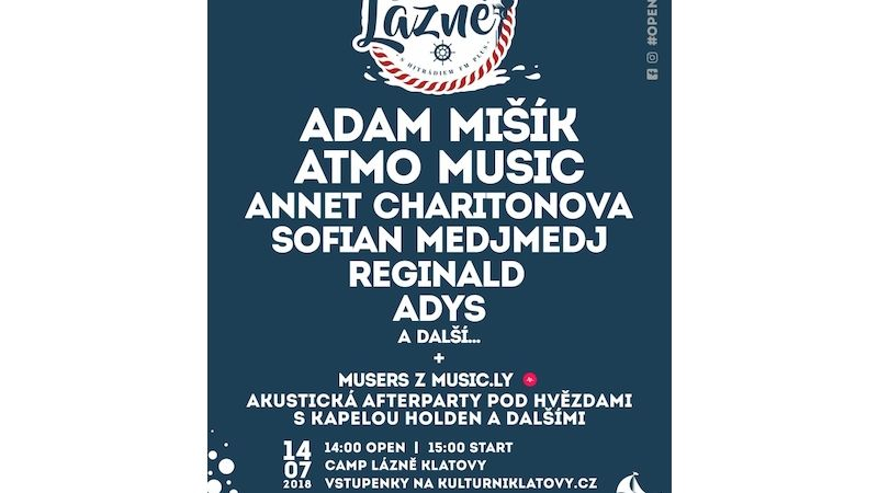 Open air Lázně s Hitrádiem FM Plus
