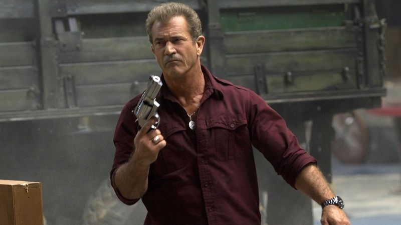 Mel Gibson v Expendables 3
