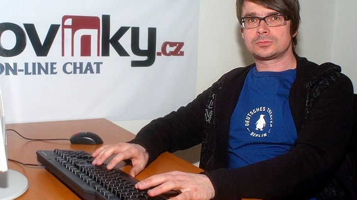 Jaroslav Rudiš na on-line chatu