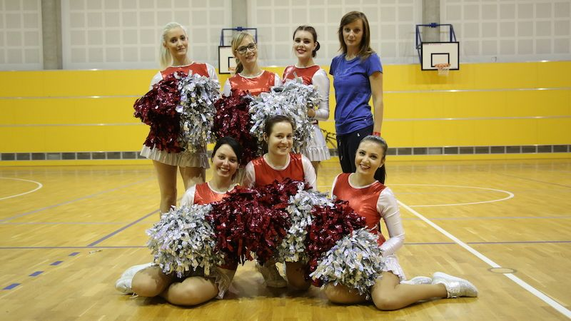 Cheerleaders Basketbalu Olomouc