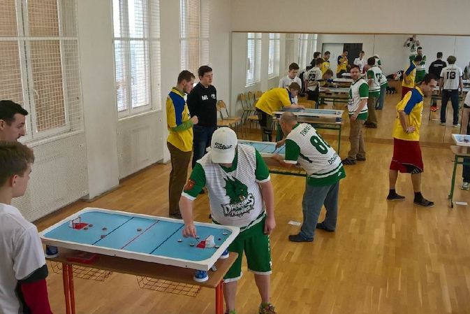 1.liga družstev – billiard-hockey šprtec