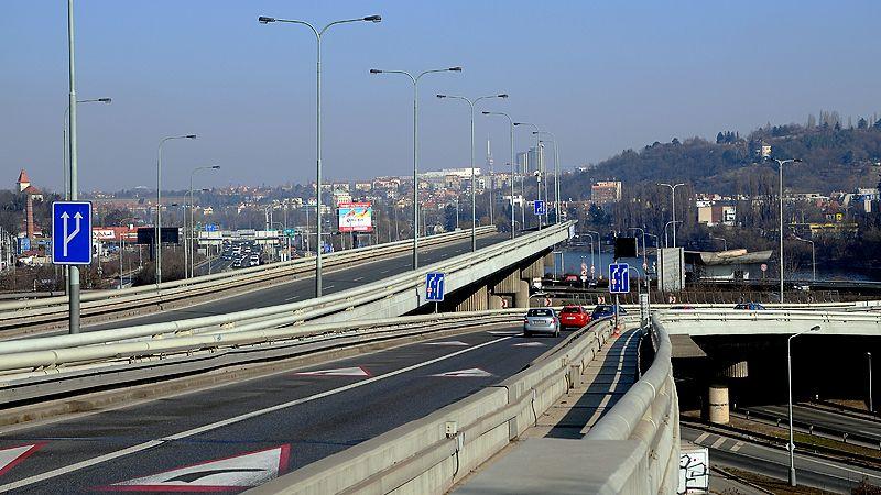 Oprava Barrandovského mostu vyjde na 600 milionů