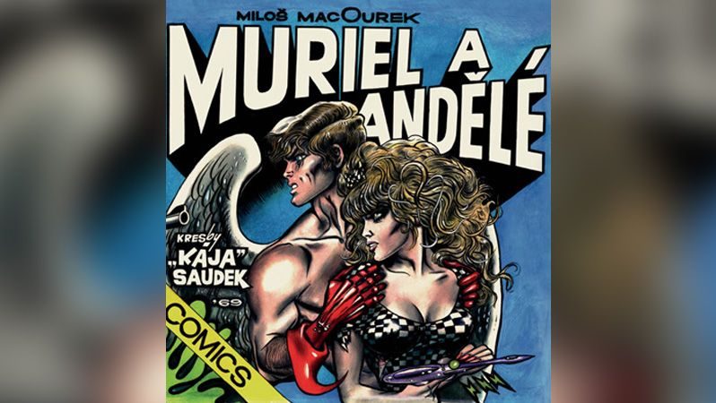 Soud vyhověl Saudkovým ve sporu o katalog s komiksem Muriel a andělé
