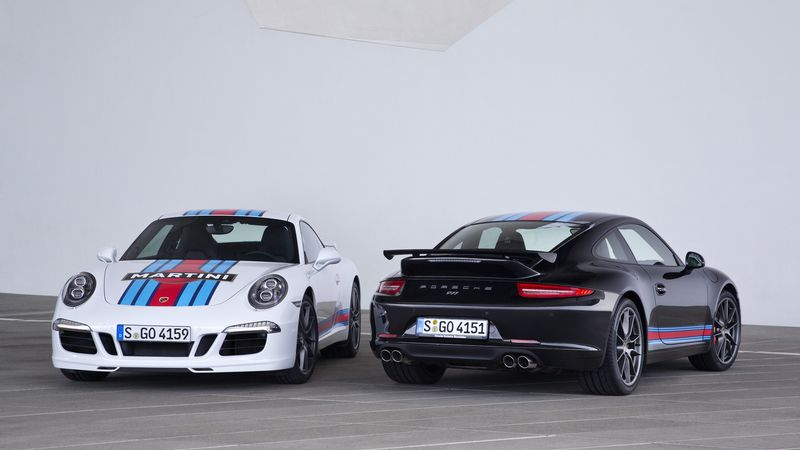 Porsche 911 Carrera S Martini Racing Edition (2014)