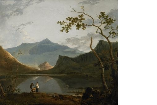 Richard Wilson: Snowdon from Llyn Nantlle (1765–1766)