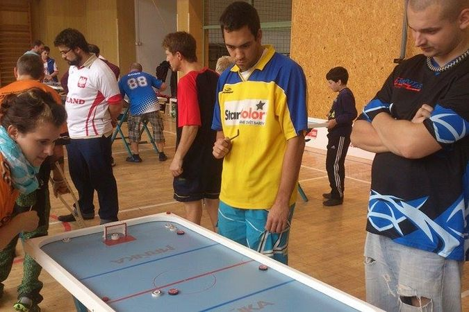 Ostrava-Jih !!! Cup - billiard-hockey šprtec