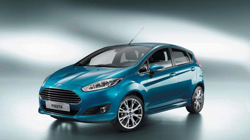 Ford Fiesta (2012, facelift)