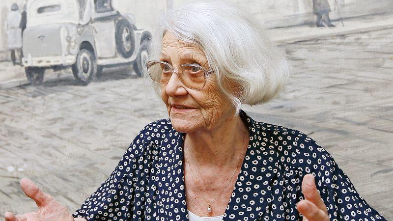 Zemřela hlasatelka Heda Čechová