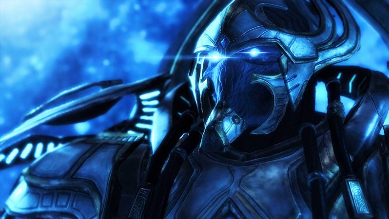 Ukázka ze hry StarCraft 2: The Legacy of the Void
