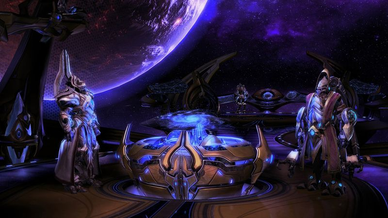 Ukázka ze hry StarCraft 2: Legacy of the Void