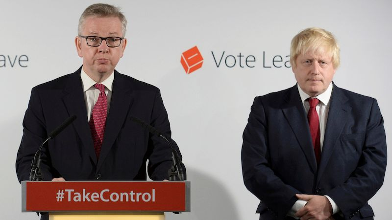 Michael Gove s Borisem Johnsonem