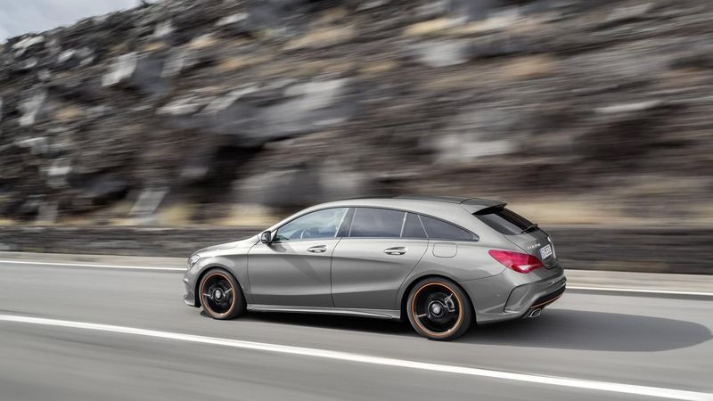 Mercedes-Benz CLA Shooting Brake (2014)