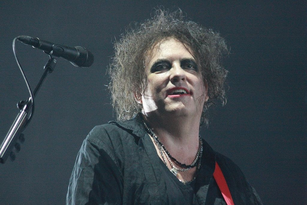 Robert Smith z The Cure v Ostravě.