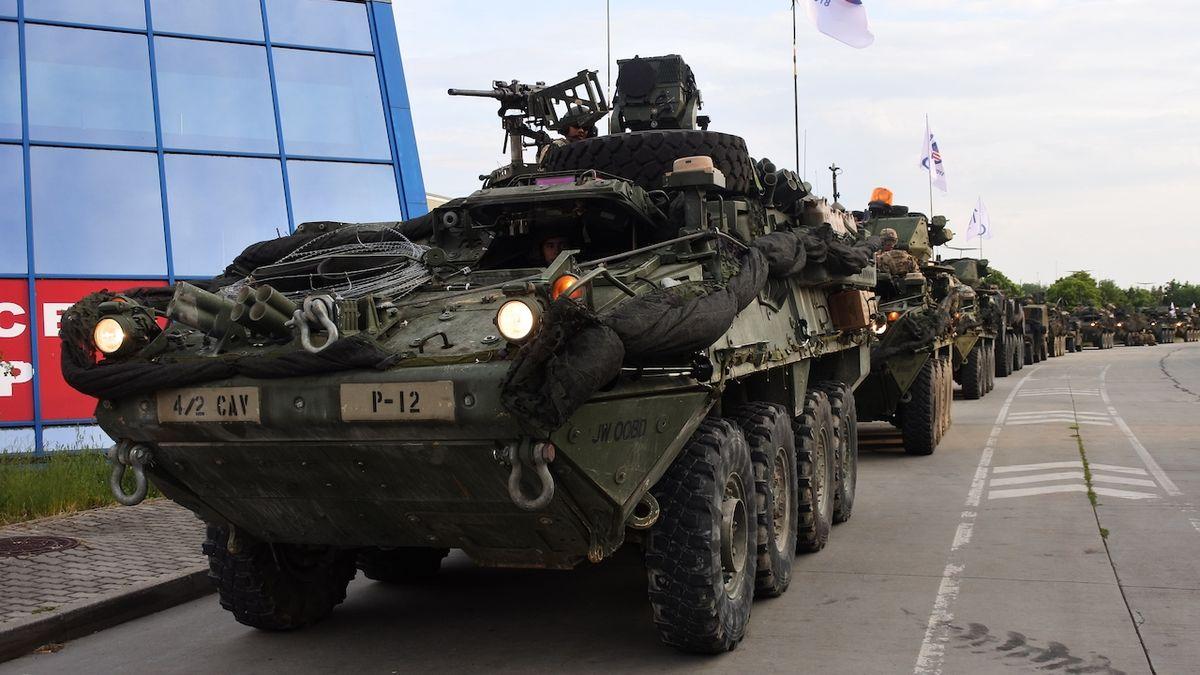 Přes Česko přejede trojice amerických konvojů