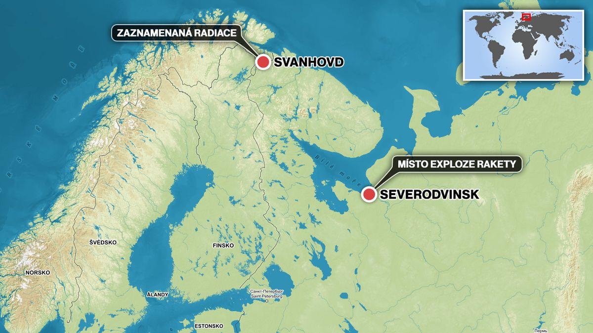 Norové hlásí výskyt radioaktivního jódu na hranici s Ruskem