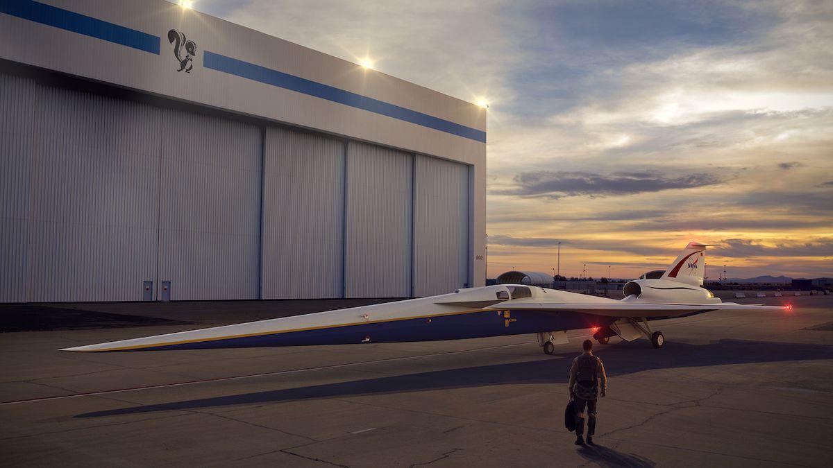 """NASA vyzkouší """"tiché"""" nadzvukové letadlo"""