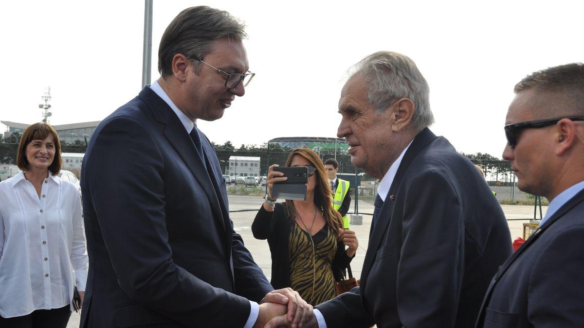 Kosovo není demokratický stát, nemám ho rád, prohlásil Zeman