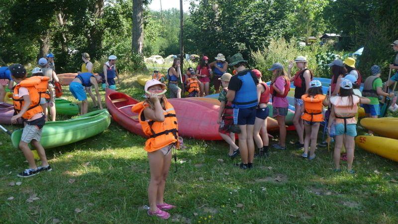 Kdyňští vodáci pořádali tábor na řece Otavě