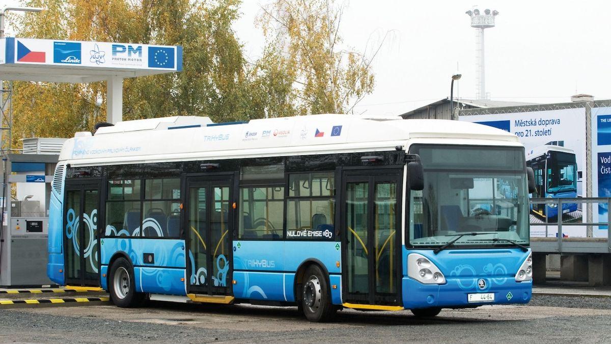 Autobusy v Ústí budou jezdit na vodík