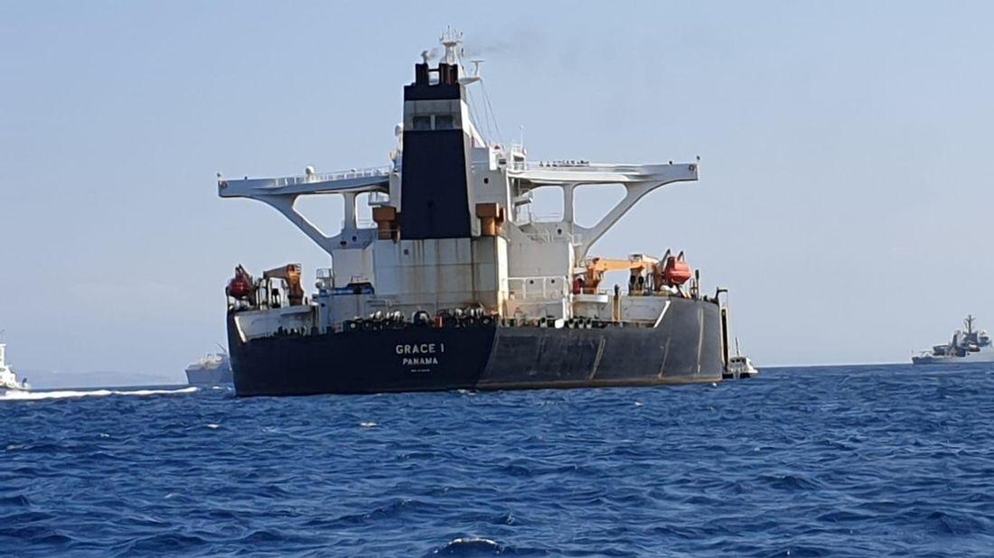 Americký soud vydal příkaz k zadržení íránského tankeru Grace 1