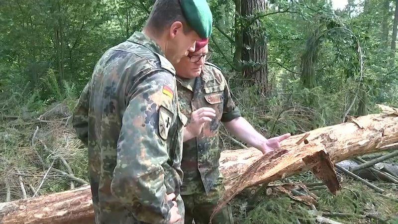 Německo nasadilo do boje s kůrovcem prapor granátníků