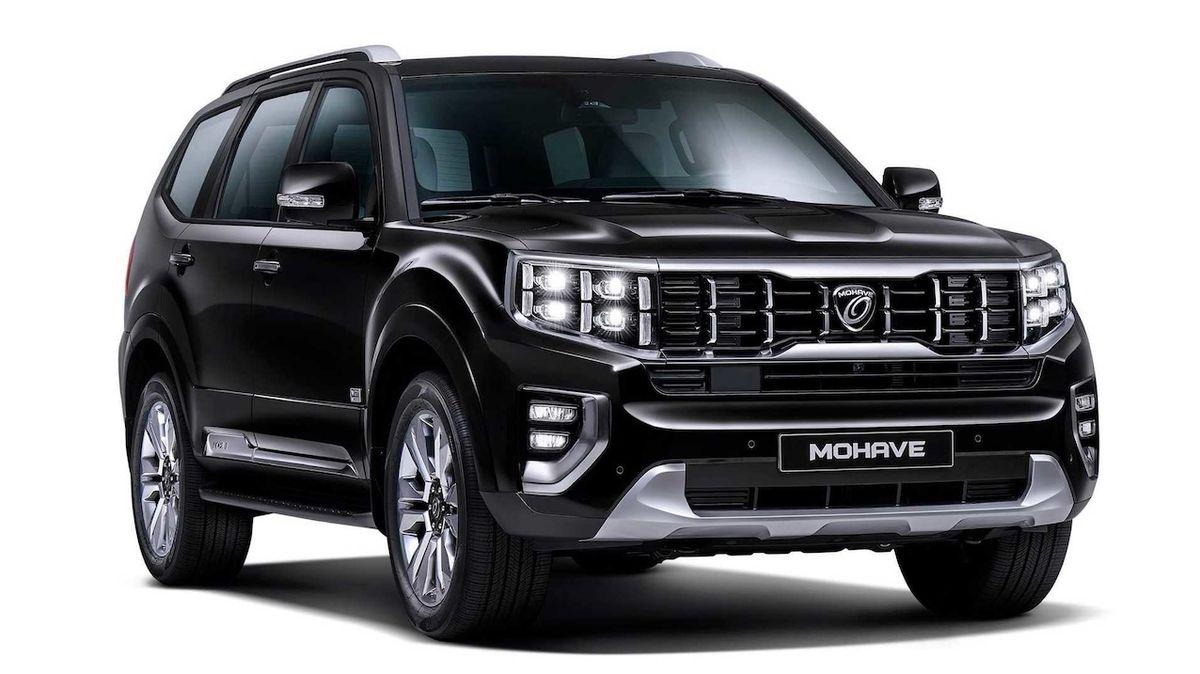 Kia představuje obří SUV Mohave, logo automobilky mu chybí