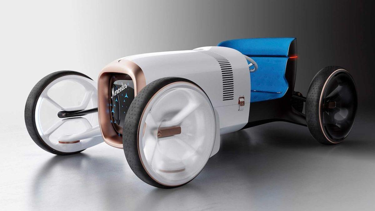 Koncept auta, či spíš jeho plastika? Vision Mercedes Simplex se nikdy nebude vyrábět
