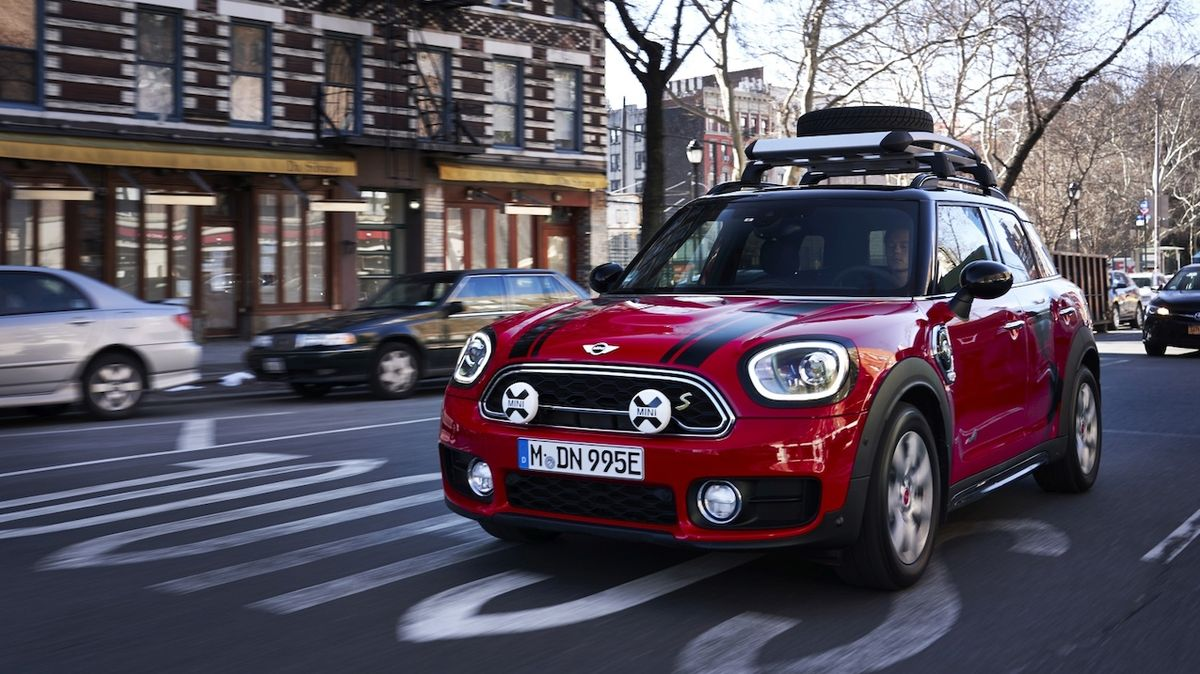 Mini Cooper S E Countryman All4 Panamericana