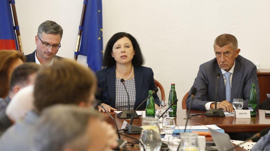 Jourová chce v Evropské komisi ekonomické portfolio