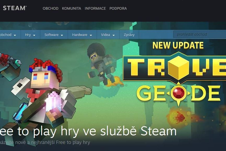 Herní platforma Steam