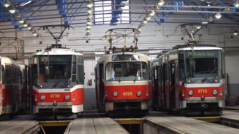 Pražské tramvaje vydezinfikují kvůli chřipce ozonem