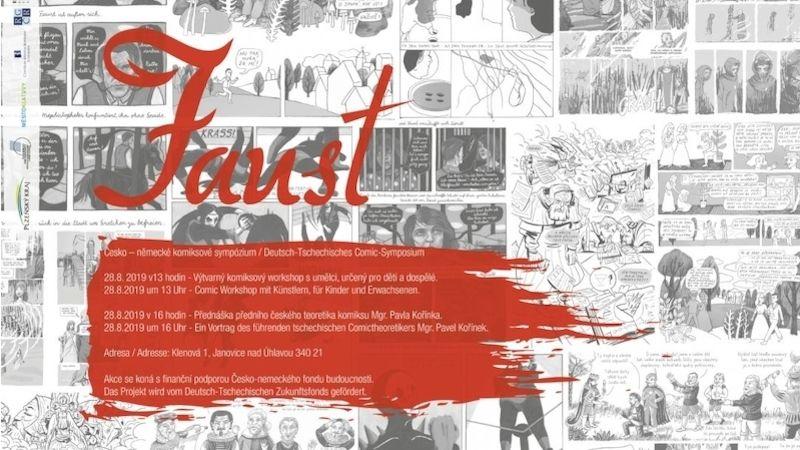 Klenová bude hostit komiksové česko-německé sympozium avýtvarný komiksový workshop sumělci