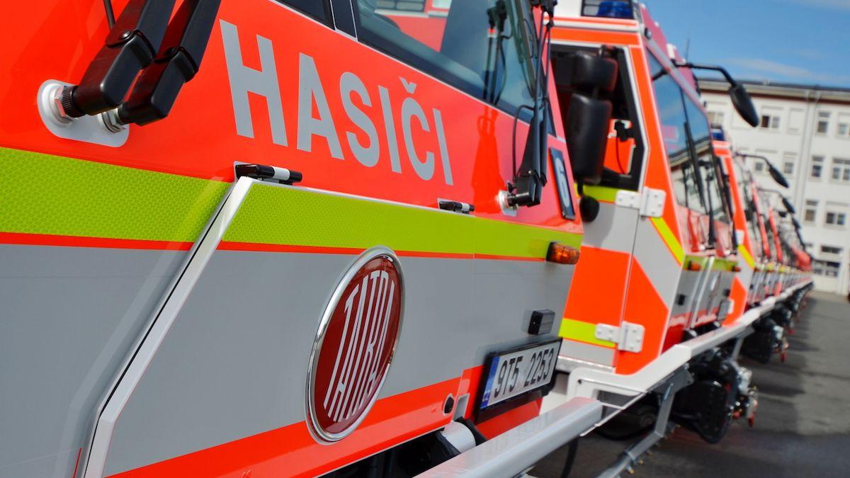 Na Jesenicku zemřel člověk při požáru kotle v rodinném domě