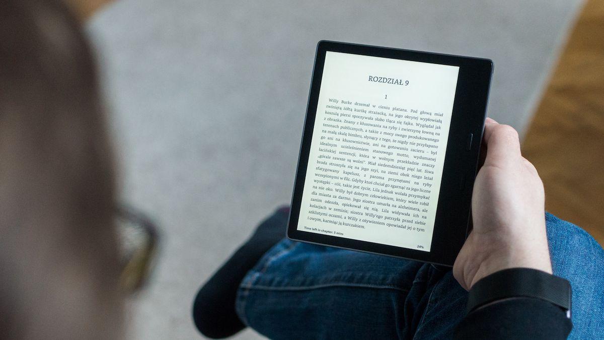 Celá knihovna se díky elektronické čtečce vejde do kapsy