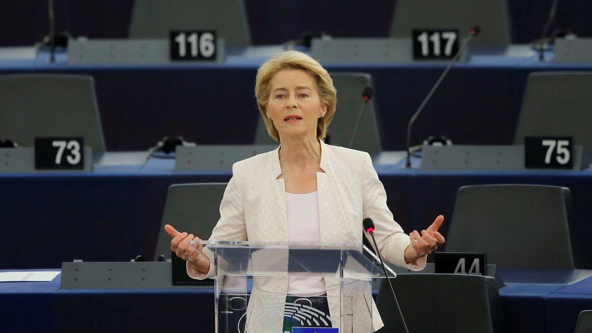 Podoba nové Evropské komise je hotová, von der Leyenová ji představí v úterý