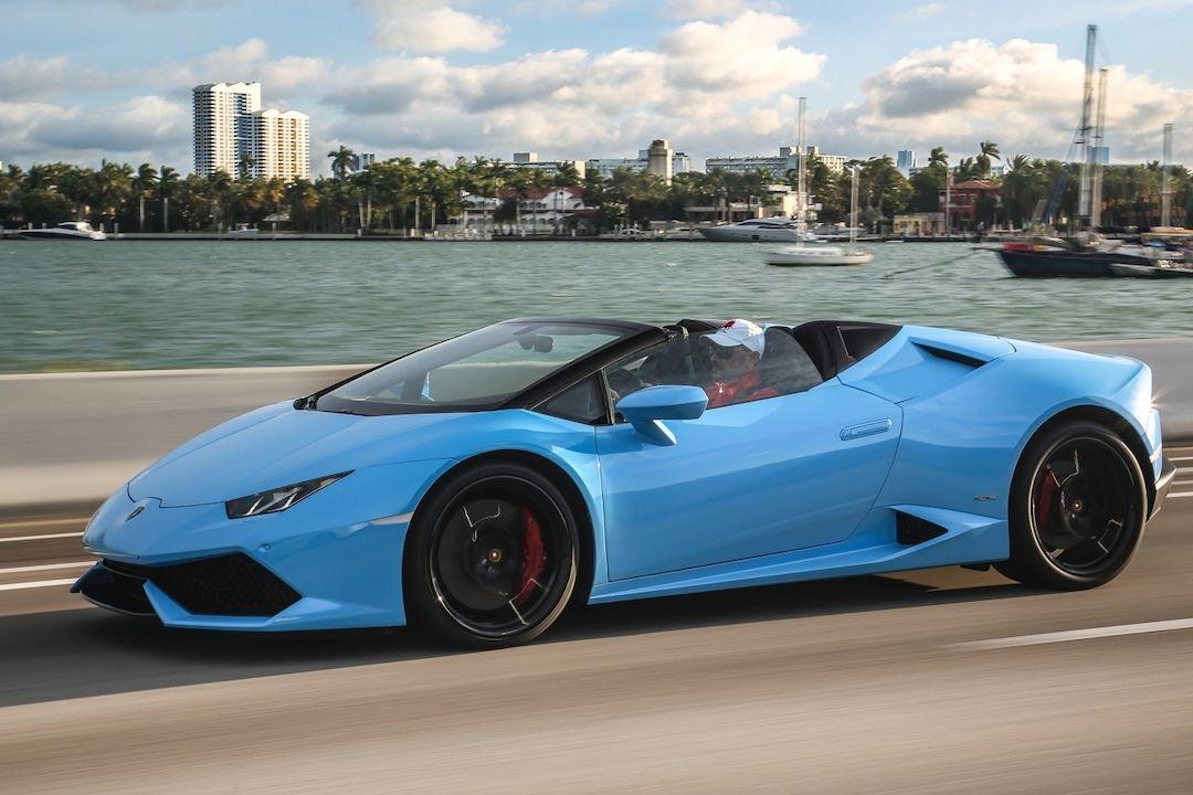Lamborghini Huracán Spyder (Ilustrační foto)