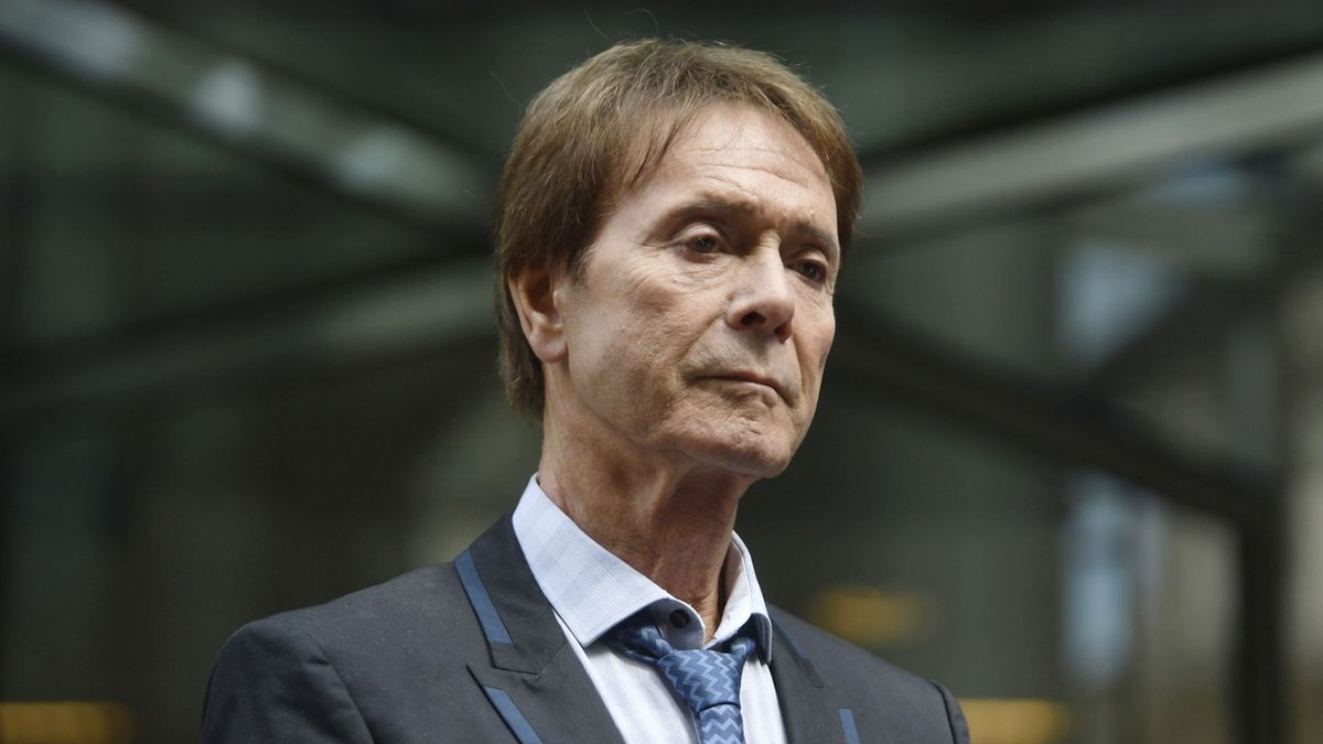 Zpěvák Cliff Richard