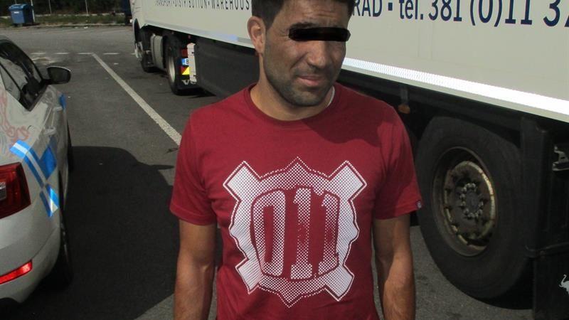 Český řidič dostal v Británii 10 let za pašování migrantů