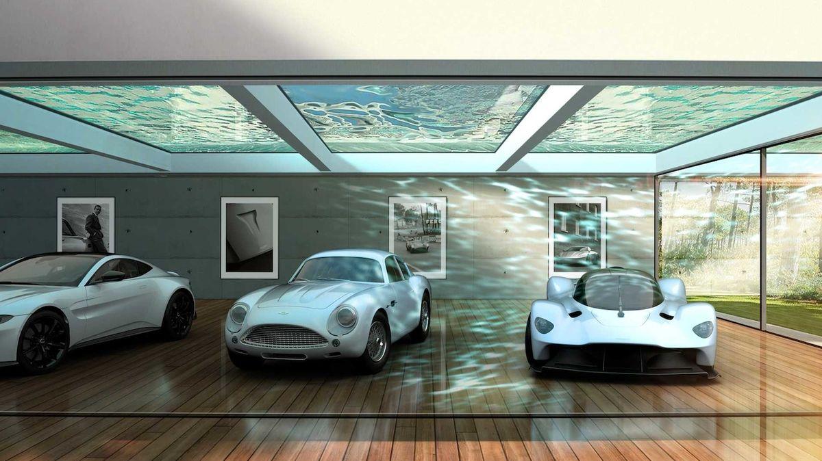 Aston Martin má nové oddělení, navrhne vám garáž snů v obýváku