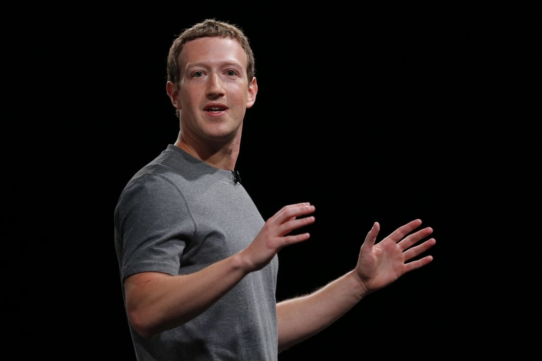 Zakladatel a séf Facebooku Mark Zuckerberg