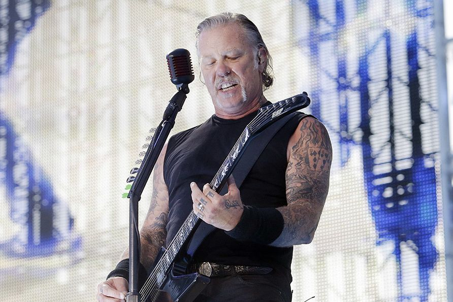 James Hetfield stojí v čele Metalliky.