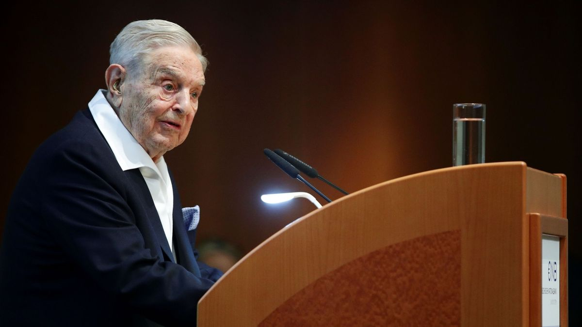 Miliardář Soros dostal vyznamenání za zásluhy