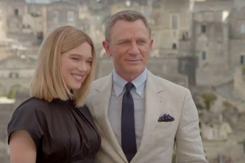 Daniel Craig a Lea Seydouxová