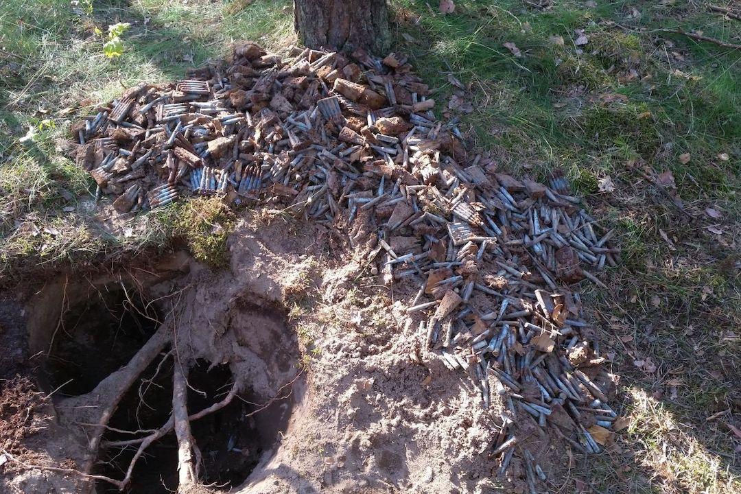 Nález válečné munice v Ralsku