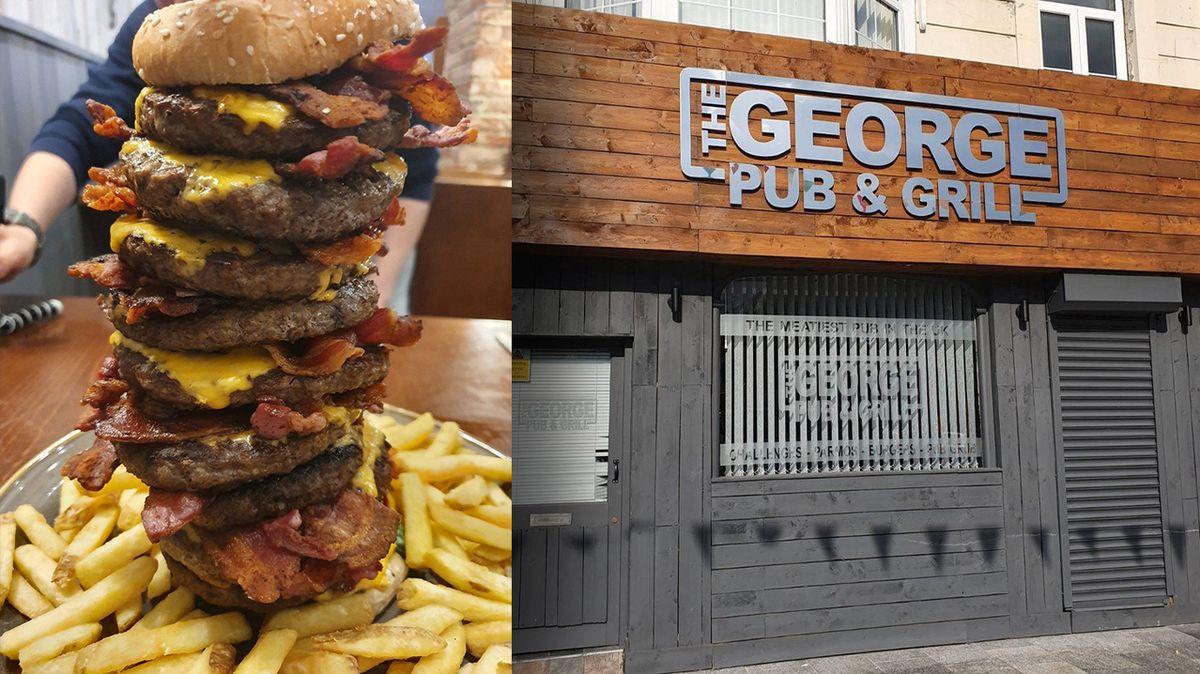 Když zemřete po požití obřího burgeru, hospoda vám zaplatí náhrobní kámen
