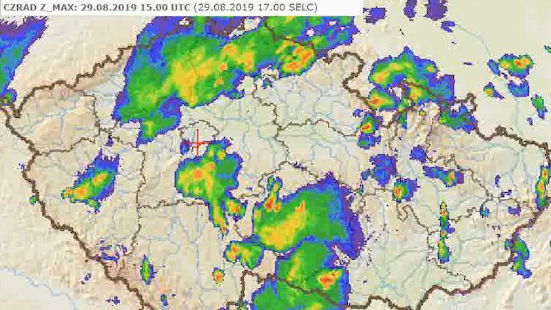 Prudké bouře zasáhly Ústecký kraj i Vysočinu