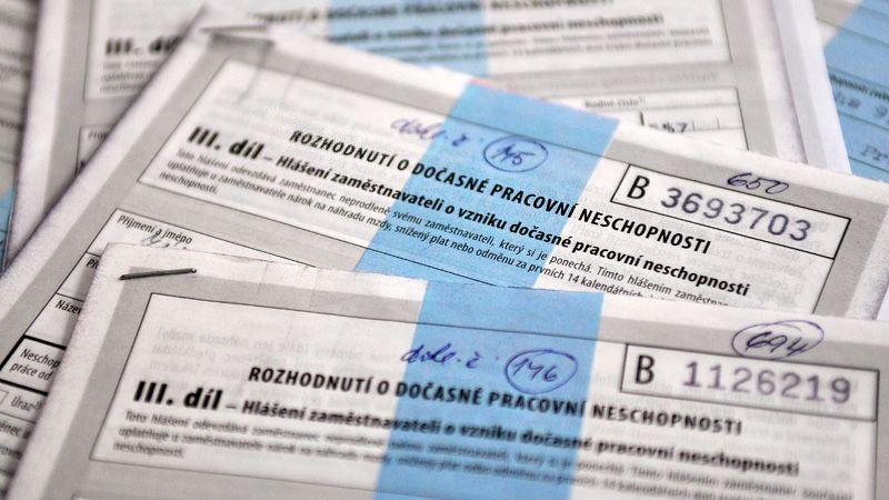 Správa sociálního zabezpečení začala testovat e-neschopenky