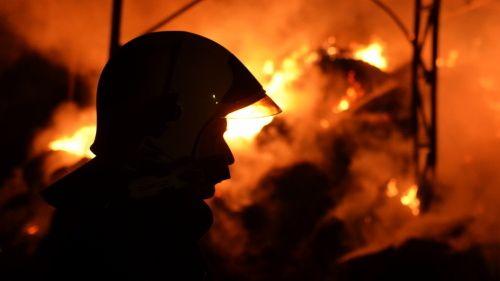 U ohniště na Zlínsku našli ohořelé tělo