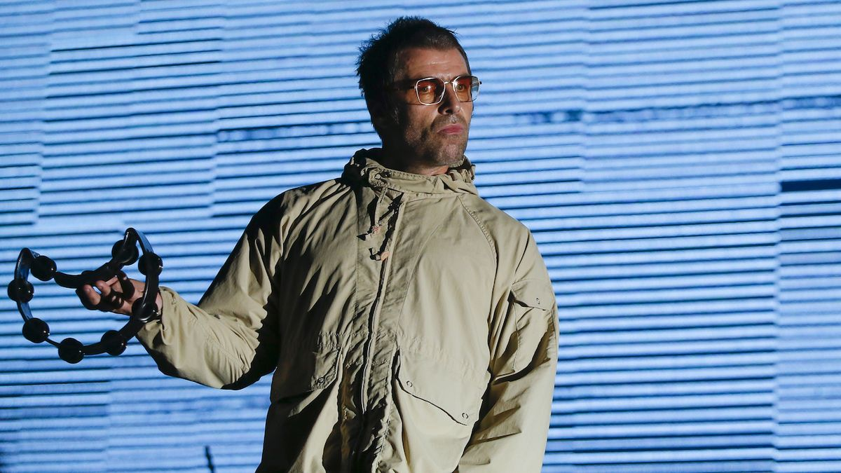 Liam Gallagher na Metronome Festivalu Prague.