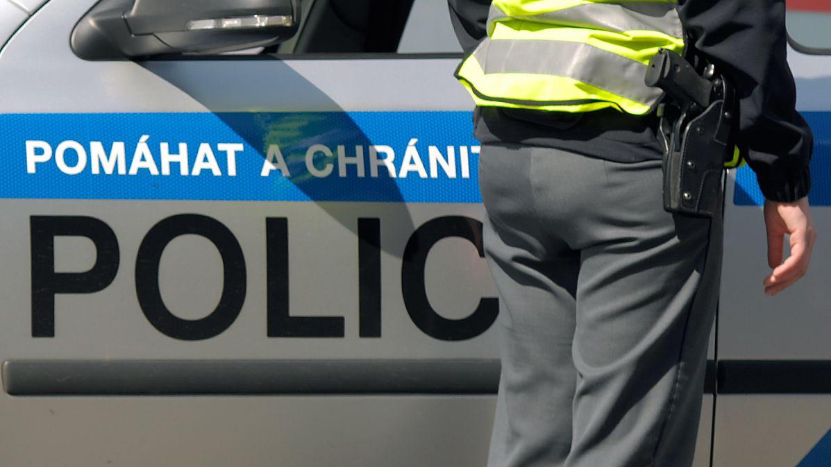V Kojetíně se poprala skupina mužů, úder tyčí schytal i policista
